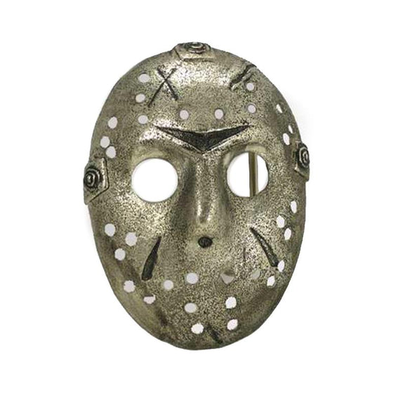 Friday 13th Jason Voorhees Mask Belt Buckle