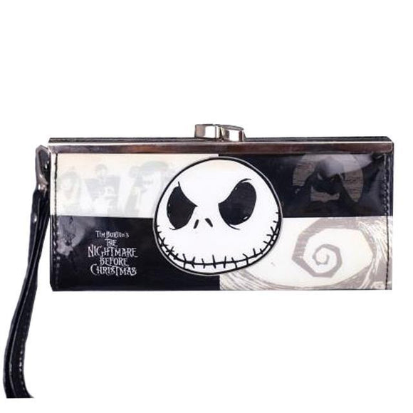 Nightmare Before Christmas Jack Skellington Clasp Clutch Purse