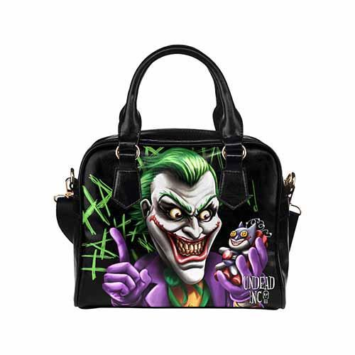 Undead Inc Joker Bat Bomb Shoulder / Hand Bag Shoulder Handbags Undead Inc