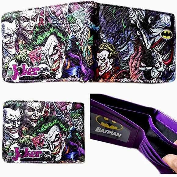 Joker Batman PU Leather Bifold Wallet