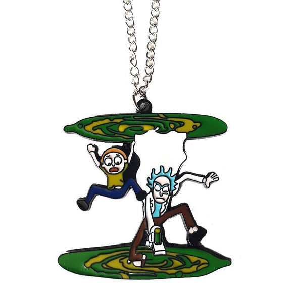 Rick & Morty Vortex Necklace