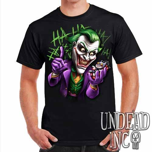 Joker Bat Bomb - Mens T Shirt - Undead Inc ,