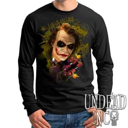 Joker BOOM - Mens Long Sleeve Tee