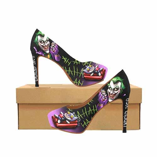 Joker Bat Bomb Platform High Heels