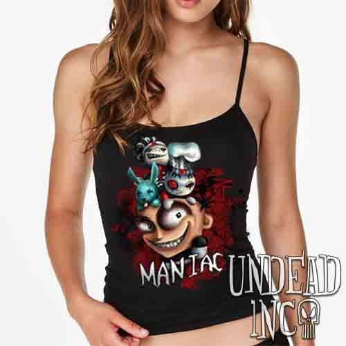 "JTHM ""Maniac"" - Petite Slim Fit Tank Petite Slim Fit Tanks Undead Inc"