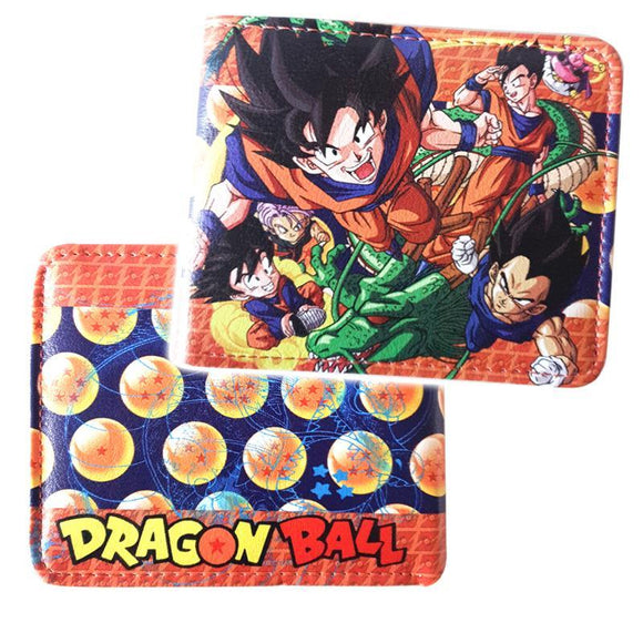 Dragonball Z Bifold Pu Leather Wallet