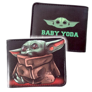 Baby Yoda Black Star Wars Mandalorian Wallet