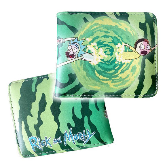 Rick and Morty Portal Bifold Wallet