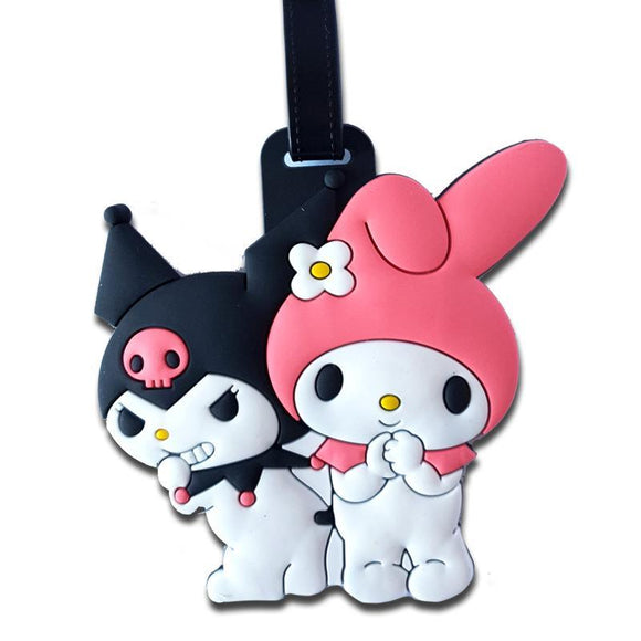 My Melody & Kuromi Bag Tag