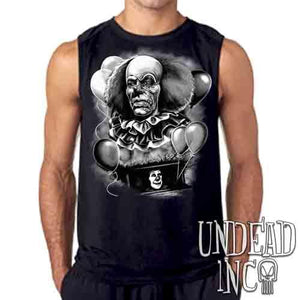 IT Pennywise 1990 Black & Grey - Mens Sleeveless Shirt