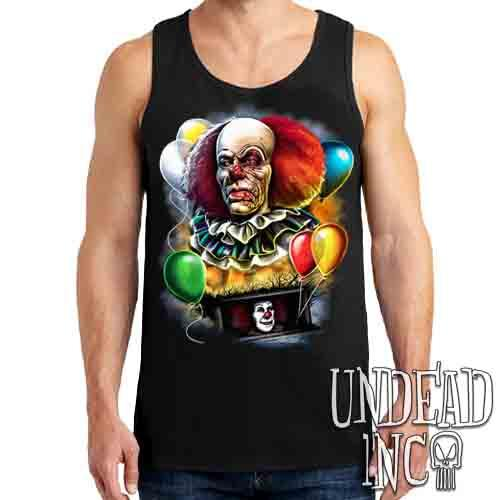 IT Pennywise 1990 - Mens Tank Singlet Mens Tanks Undead Inc
