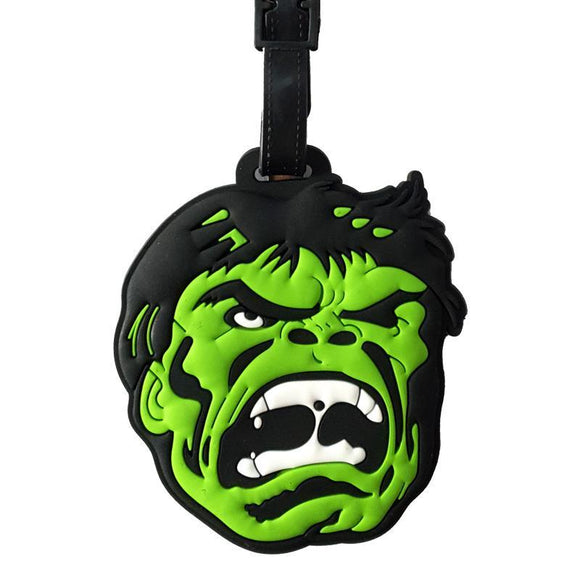 The Hulk Comic Bag Tag