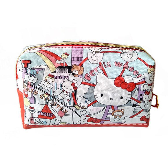 Hello Kitty Carnival Makeup Cosmetics Bag