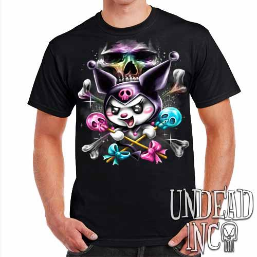 Kuromi Skull Pop Crossbones - Mens T Shirt