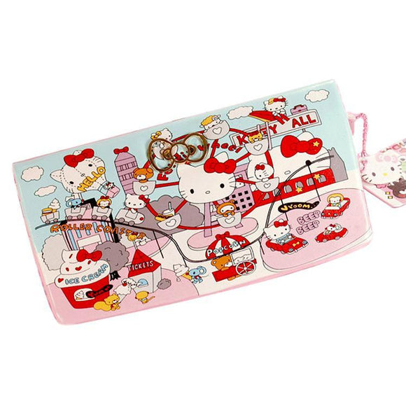 Hello Kitty Carnival Soft Style Long Line Wallet Purse