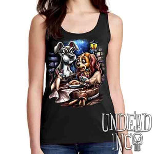 Lady & The Tramp Siamese Catastrophe - Ladies Singlet Tank