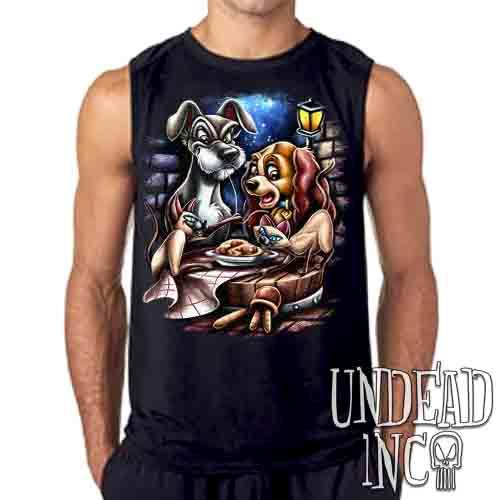 Lady & The Tramp Siamese Catastrophe - Mens Sleeveless Shirt