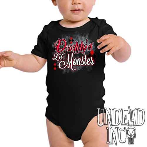 Harley Quinn Daddy's Lil Monster - Infant Onesie Romper