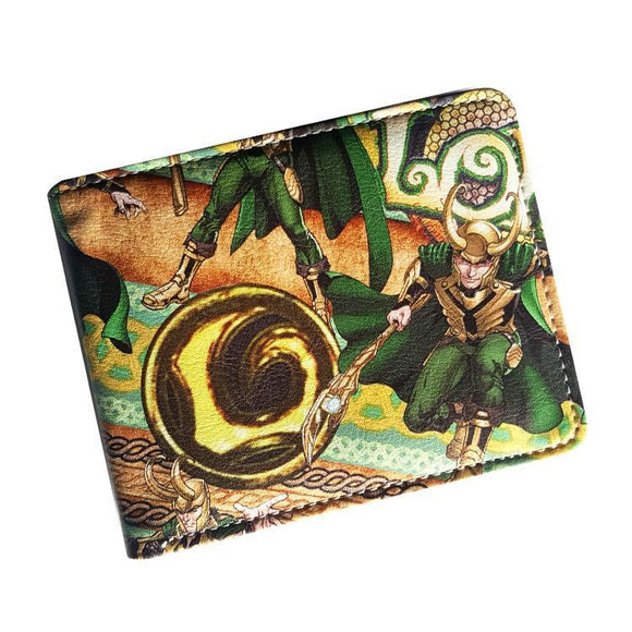 Marvel Loki - Thor PU Leather Bifold Wallet