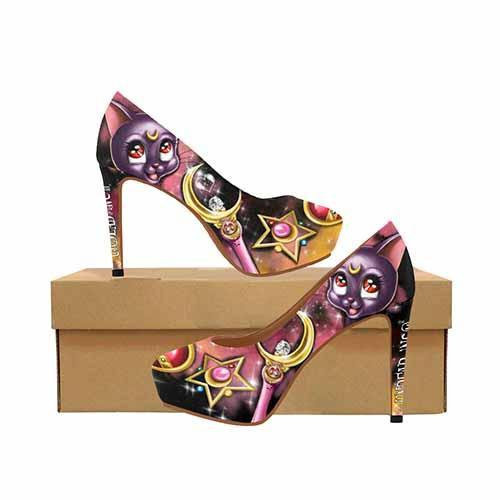 Sailor Moon Luna Platform High Heels