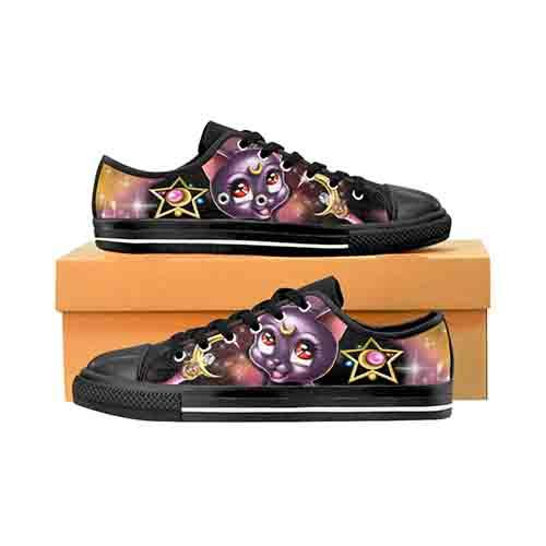 Sailor Moon Luna MENS Canvas Shoes