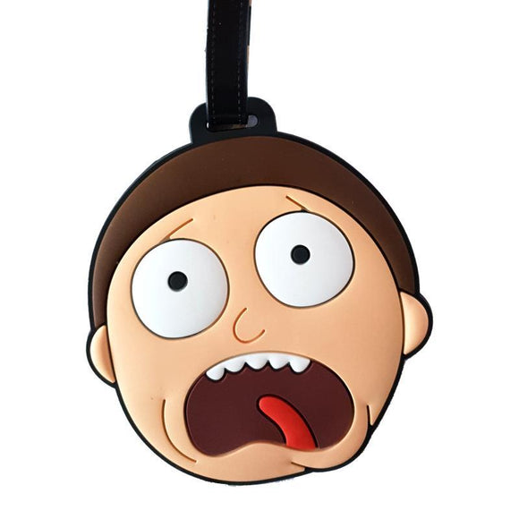 Rick & Morty - MORTY Bag Tag
