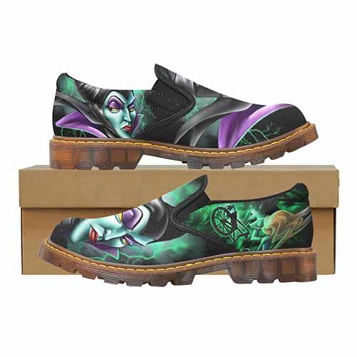 Villains Maleficent Men's Martin Loafer Shoes