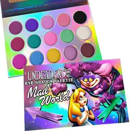 Mad World Undead Inc Eyeshadow Palette
