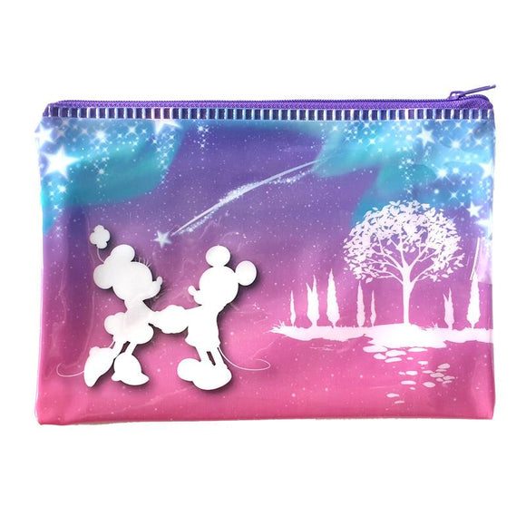 Mickey & Minnie Mouse PU Makeup Cosmetics Bag