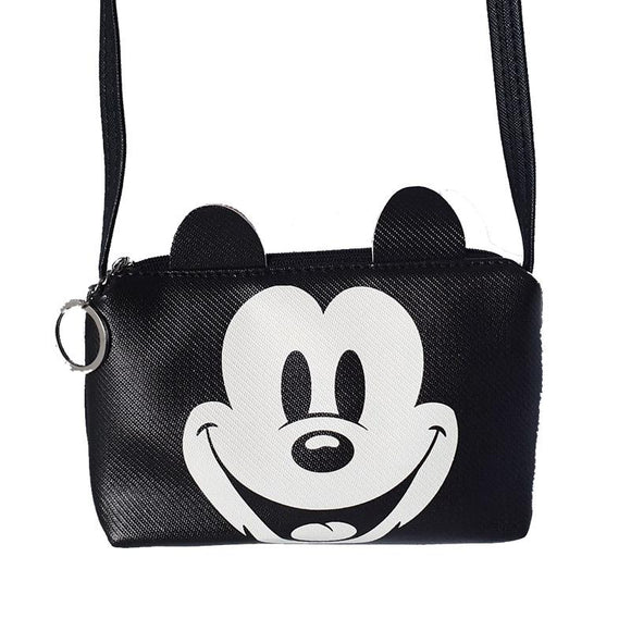 Mickey Mouse Small Purse Mobile Phone Passport Bag Cross Body/ Shoulder