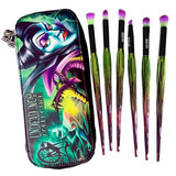 Undead Inc Collection Maleficent - Makeup Brush & Case Set