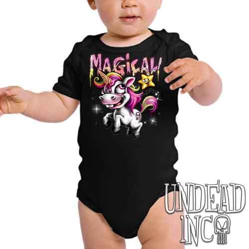 Magical Ice Cream Unicorn Undead Inc - Infant Onesie Romper