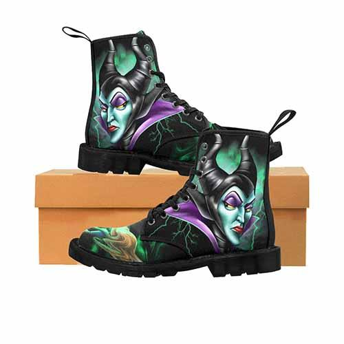 Villains Maleficent Spinning Wheel MENS Martin Boots