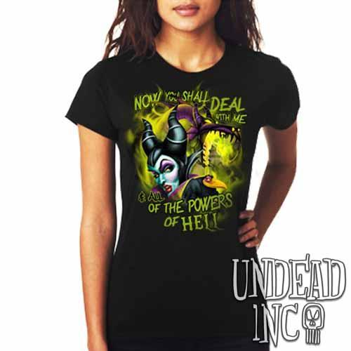 Villains Maleficent - Ladies T Shirt