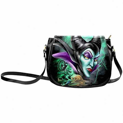 Maleficent Spinning Wheel Undead Inc Shoulder / Cross Body Bag