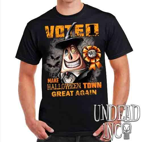 Mayor VOTE 1 Halloween Town - Mens T Shirt