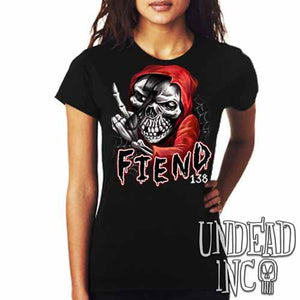 FIEND 138 Misfit - Ladies T Shirt - Undead Inc Ladies T-shirts,
