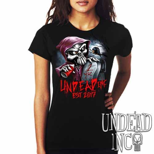 Undead Inc Mortis 1 YR Anniversary LIMITED EDITION - Ladies T Shirt