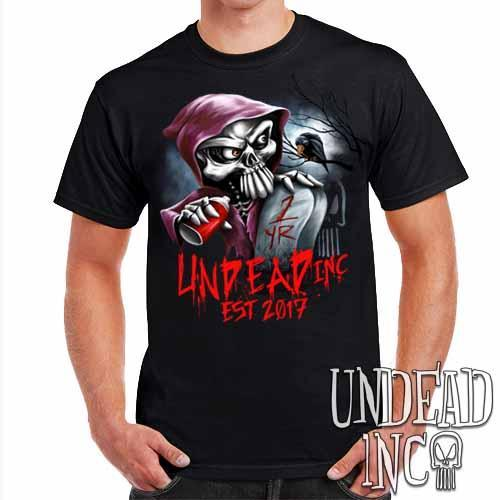 Undead Inc Mortis 1 YR Anniversary LIMITED EDITION - Mens T Shirt