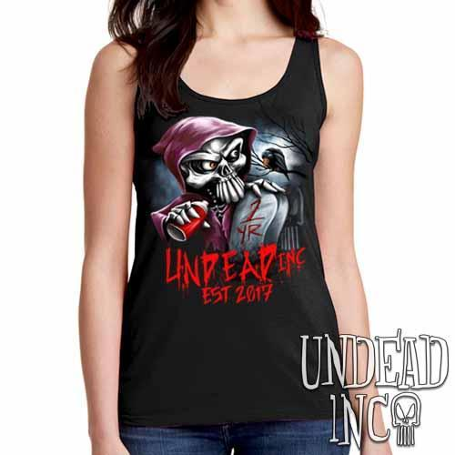 Undead Inc Mortis 1 YR Anniversary LIMITED EDITION - Ladies Singlet Tank