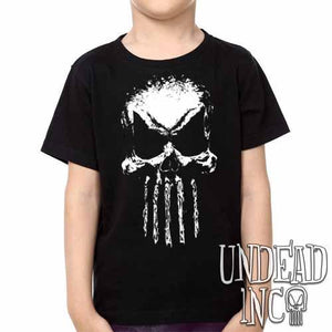 Undead Inc Mortis Skull -  Kids Unisex Girls and Boys T shirt Clothing