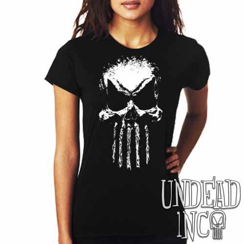 Undead Inc Mortis Skull - Ladies T Shirt