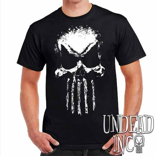 Undead Inc Mortis Skull - Mens T Shirt