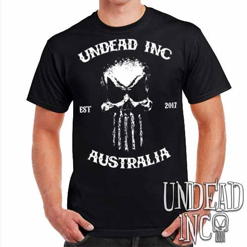 Undead Inc Australia Mortis Skull Rocker - Mens T Shirt
