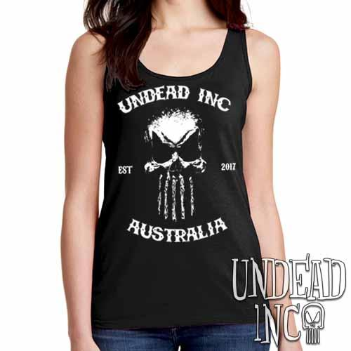 Undead Inc Australia Mortis Skull Rocker - Ladies Singlet Tank