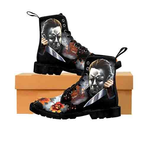 Myers Halloween Screams MENS Martin Boots