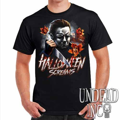 Michael Myers Halloween Screams - Mens T Shirt