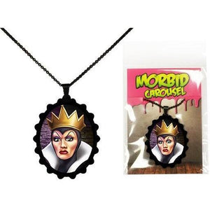 Disney Villains Snow White Evil Queen STAINLESS STEEL Necklace - Undead Inc ,