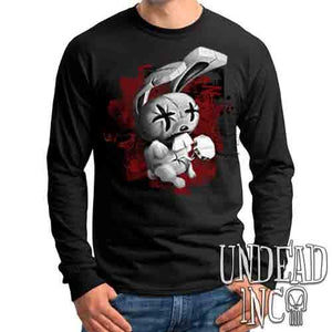 JTHM Nailbunny Black & Grey - Mens Long Sleeve Tee