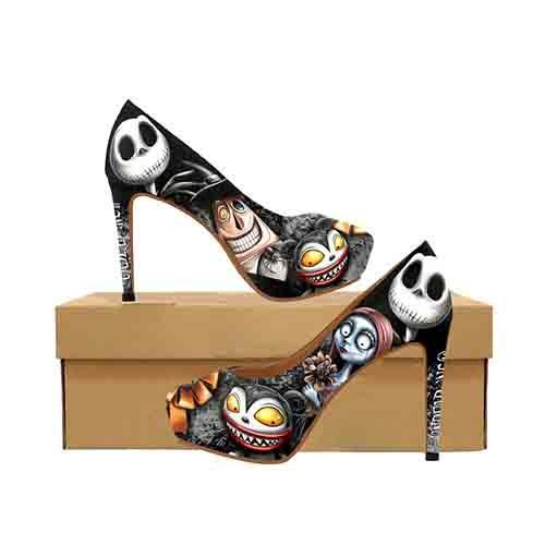 Halloween Town Platform High Heels